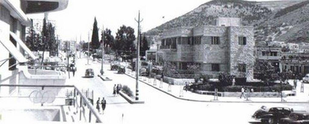اقتصاد محافظة نابلس : شارع فيصل قديما