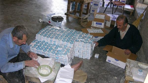 اقتصاد محافظة نابلس: صناعة الصابون الشهيرة