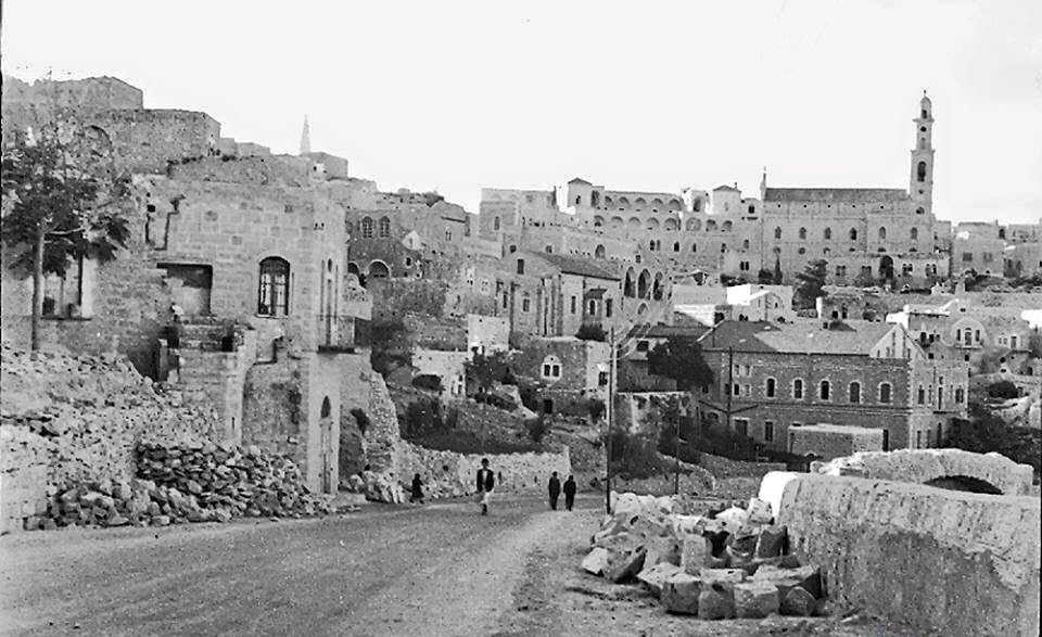 محافظة بيت لحم واقتصادها : المدينة قديما