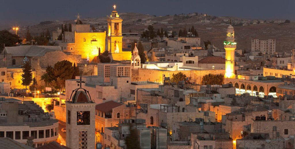 محافظة بيت لحم واقتصادها : المدينة ليلا