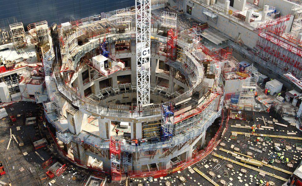 أغلى عشرة مباني في العالم  : المفاعل النووي الحراري بقيمة 25 مليار دولار
