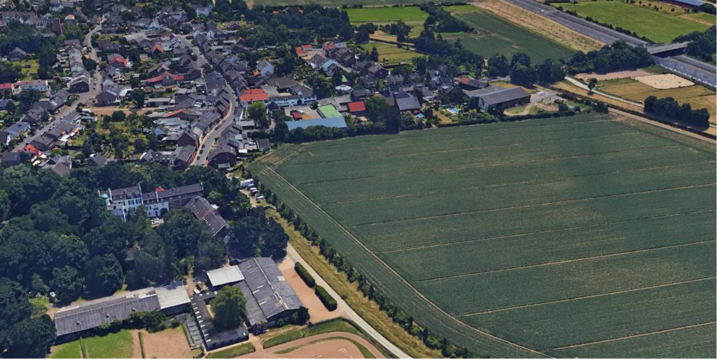 صور فيضانات المانيا وبلجيكا قبل وبعد : صورة قبل ساعات فقط من الفيضانات