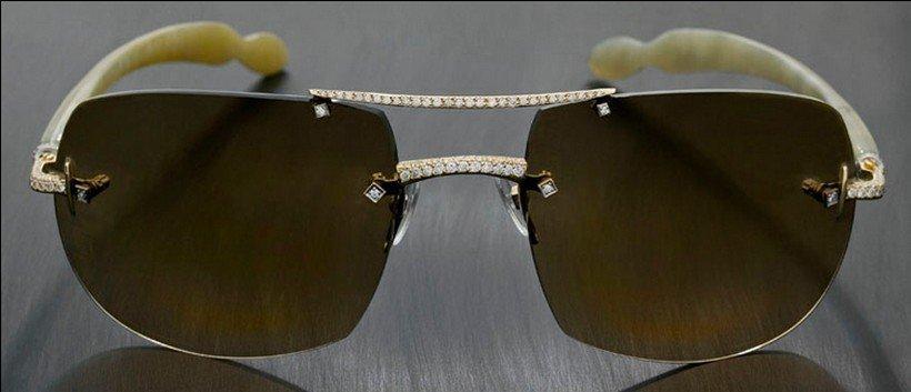 أغلى نظارة شمسية في العالم : المركز السادس