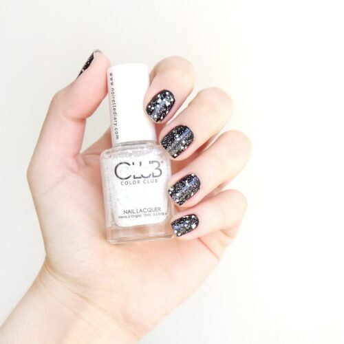 black-white-confetti-nails