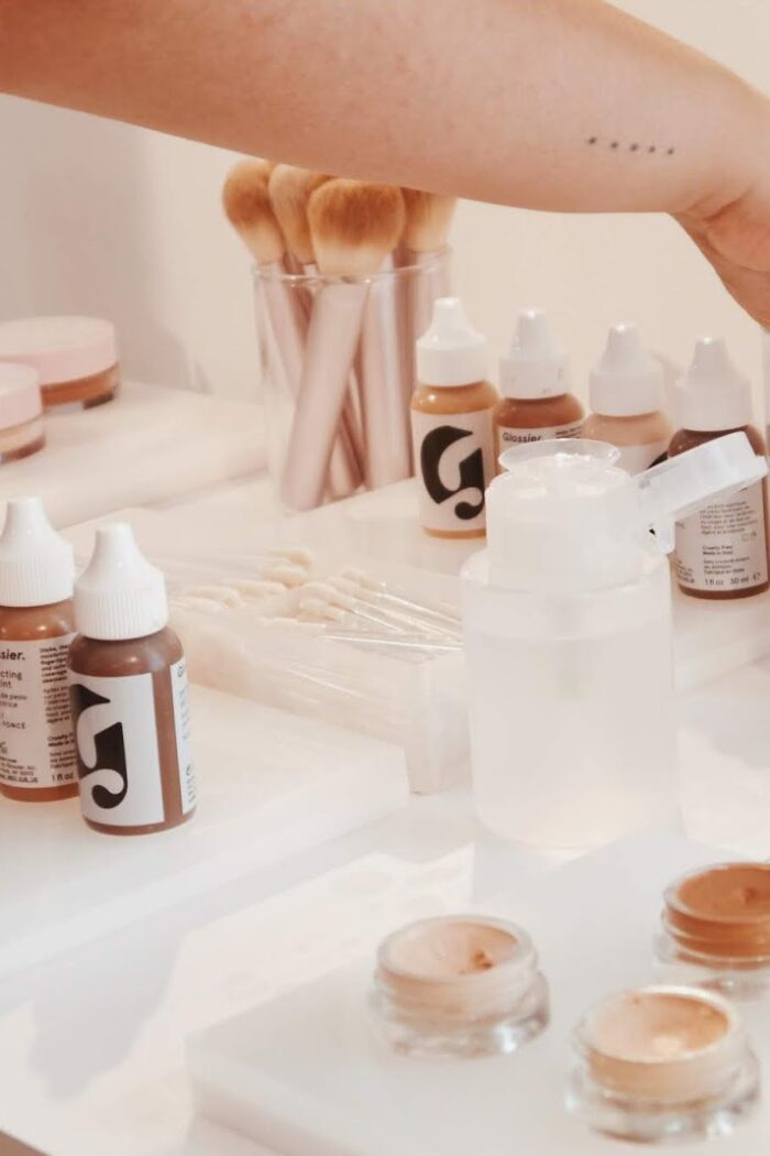 Visiting The Glossier Showroom in NYC