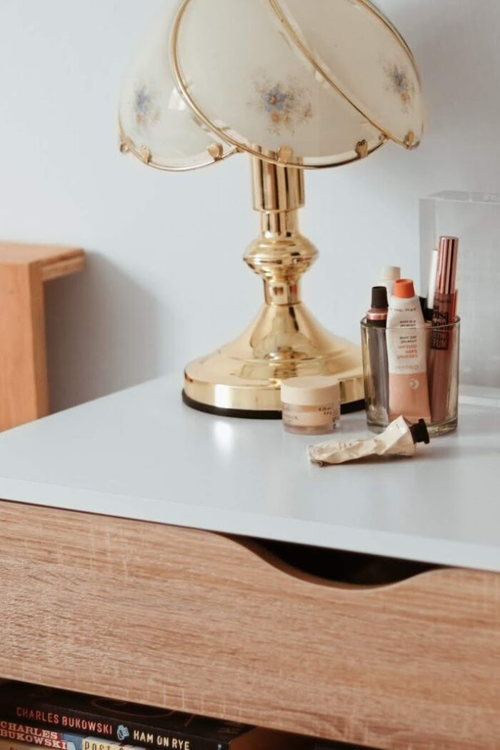 My bedside table beauty essentials