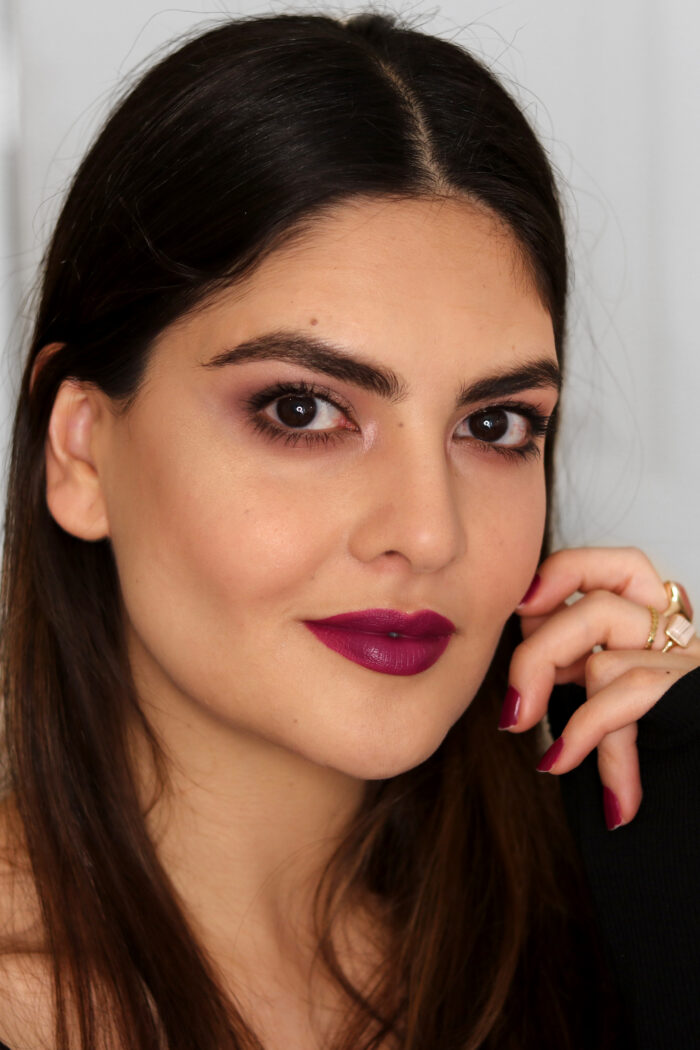 VIDEO: Cool Toned Burgundy Makeup Look
