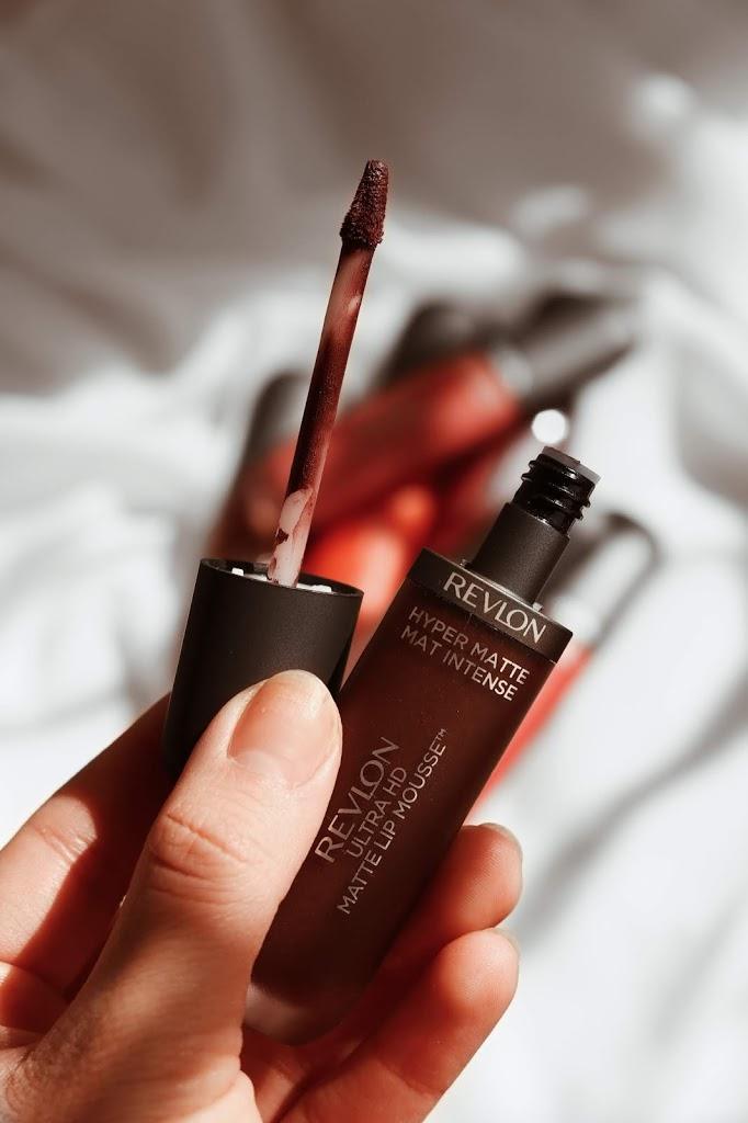 revlon ultra hd matte lip mousse review swatches