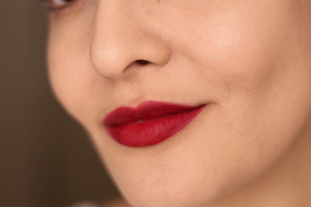 revlon ultra hd matte lip mousse review swatches crimson sky