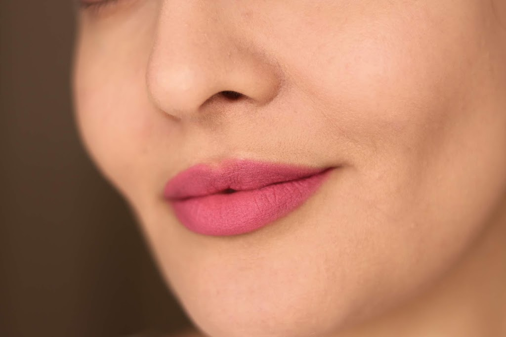 revlon ultra hd matte lip mousse review swatches dusty rose