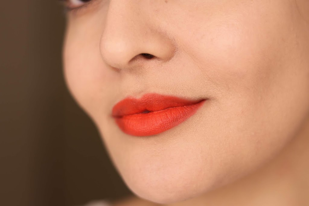revlon ultra hd matte lip mousse review swatches scorpion red