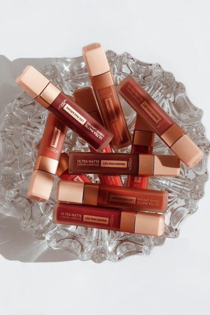 L'Oréal Les Macarons Liquid Lipsticks Review + Swatches