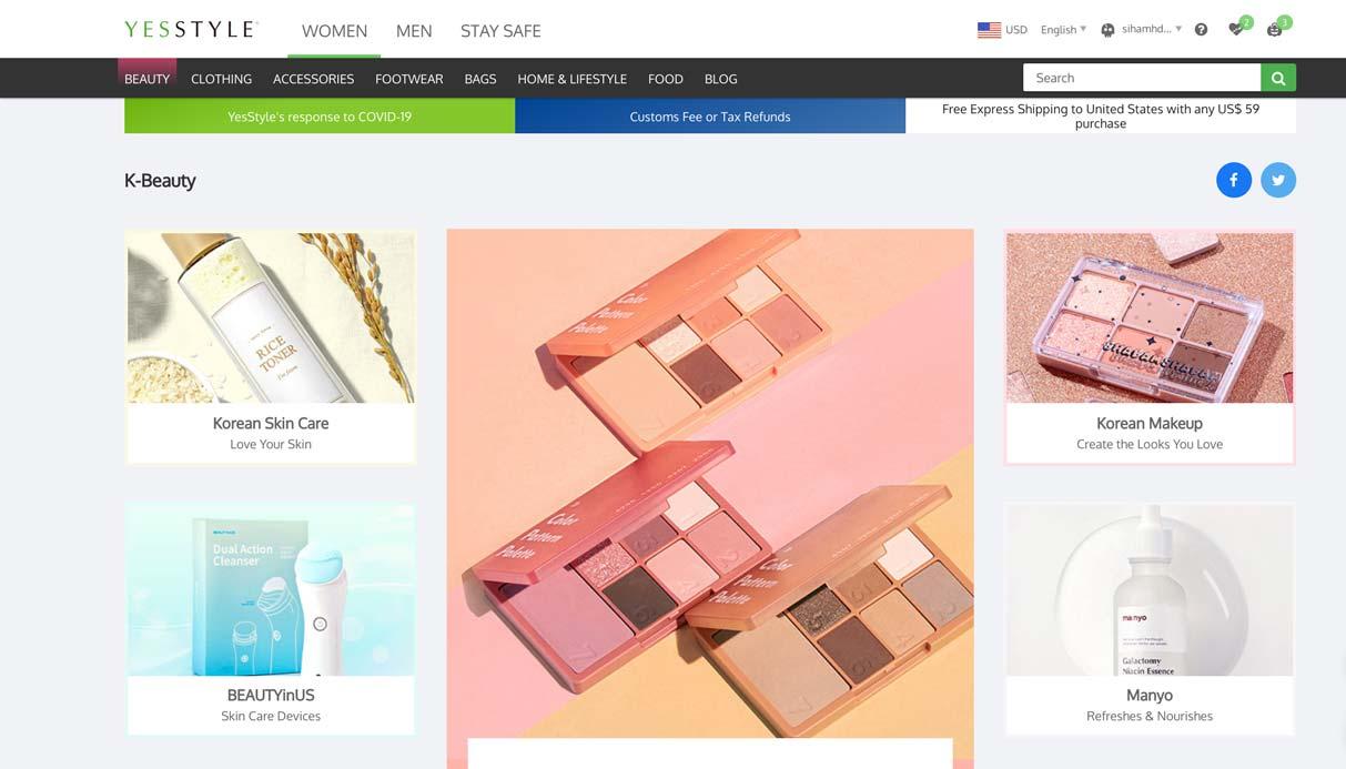 donde comprar maquillaje skincare coreano mexico