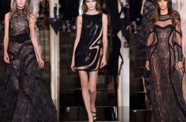 Versace thu hút với đường cắt gợi cảm