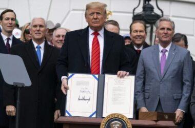 Trump ký thỏa thuận thương mại Mỹ-Mexico-Canada