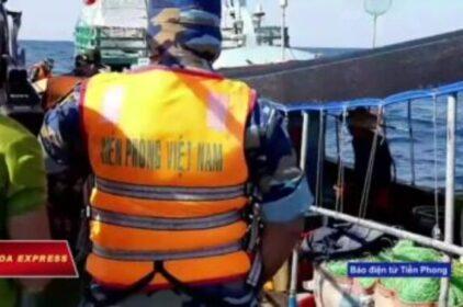 Biên phòng Việt Nam 'đẩy đuổi' tàu cá Trung Quốc