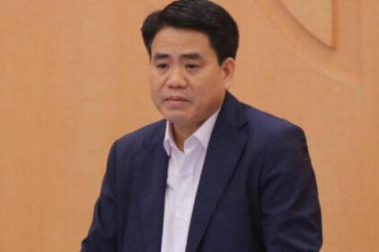 Chủ tịch Hà Nội Nguyễn Đức Chung bị bắt
