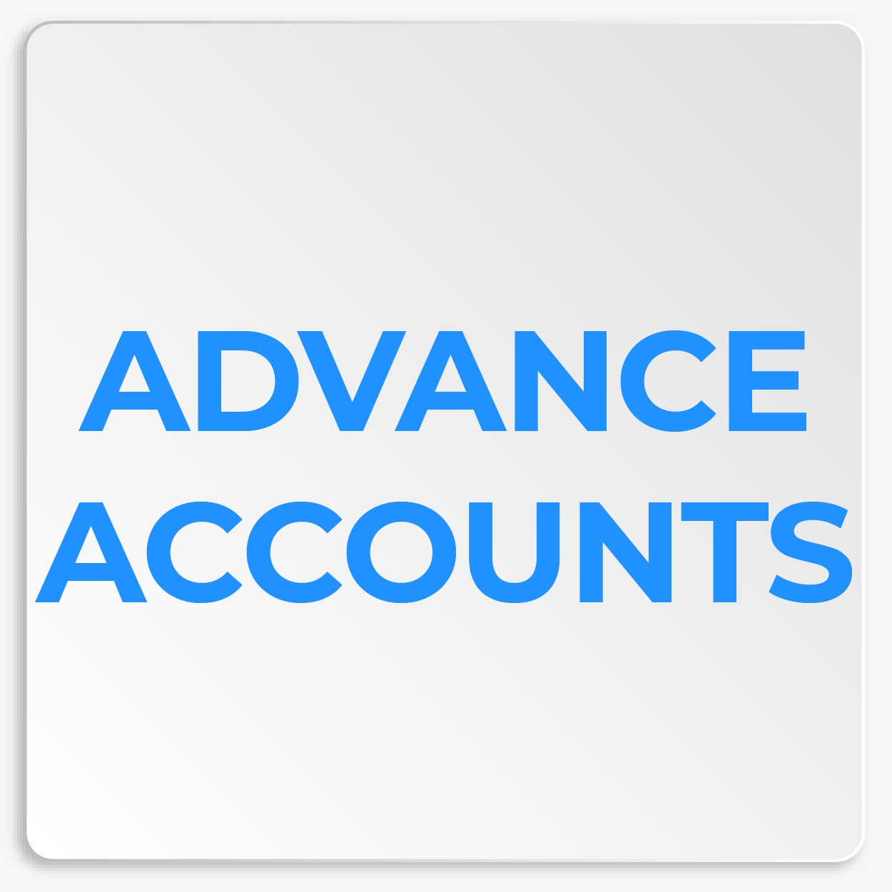 Advance Accounts
