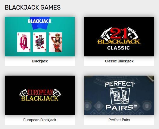 Blackjack Online Games