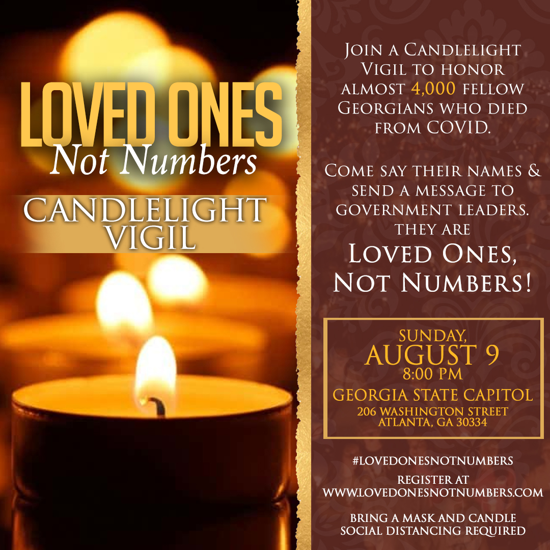 Join candlelight vigil