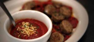 Italian sausage with marinara