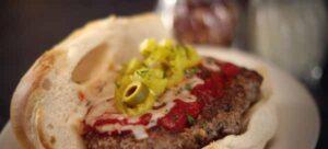 Altony's veal parmesan sandwich