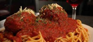 Altony's spaghetti and meatballs
