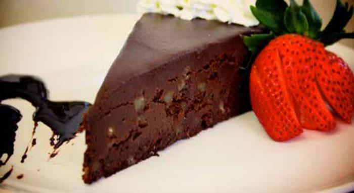 Altony's brownie dessert