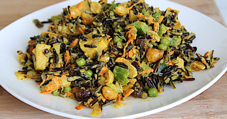 Curried Wild Rice Salad