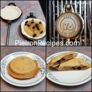 Pie Iron Apple Strudel