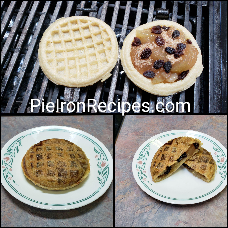 Waffle Apple Pie