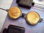 Toasting a Hamburger Bun
