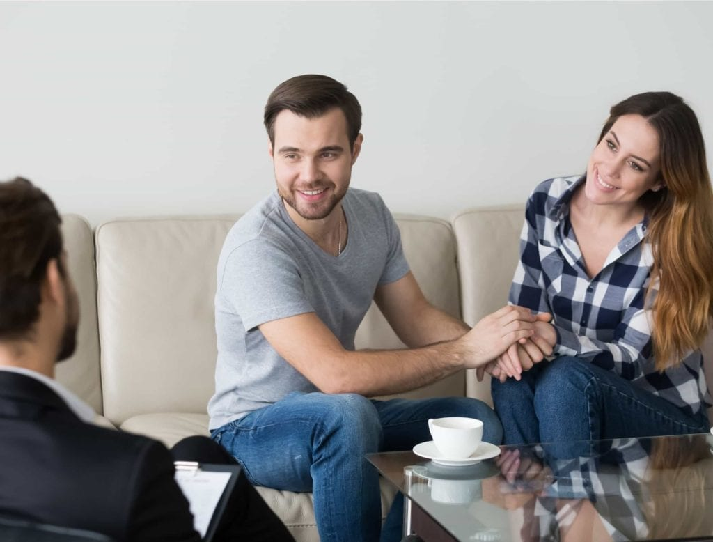 couple at therapy