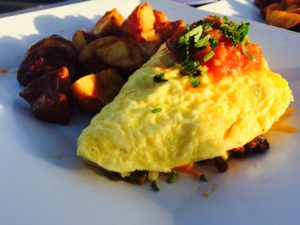 Best Omelette in St. Pete Beach at Rick's Reef