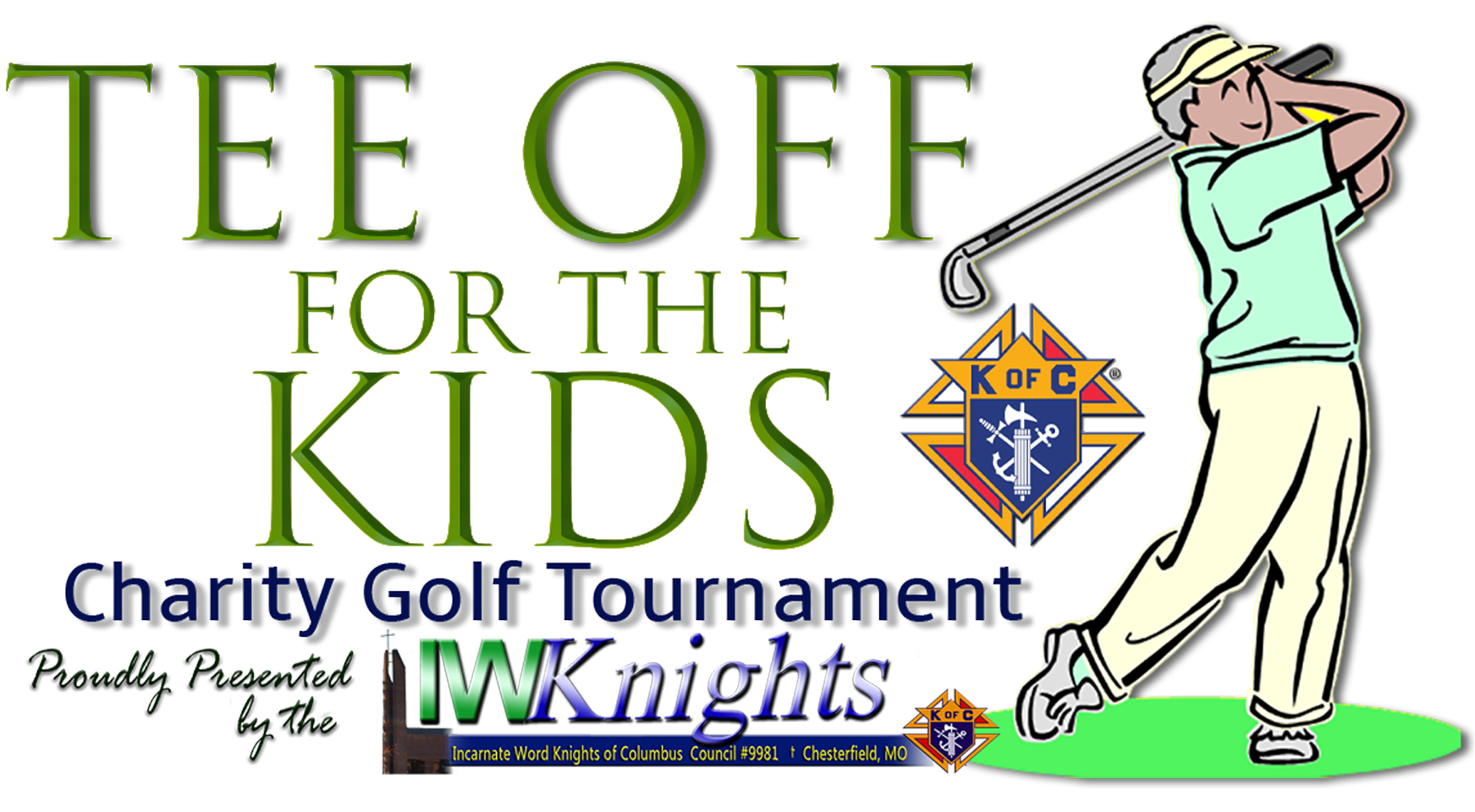 """""""Tee Off for the Kids"""" Charity Golf Tournament"""