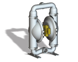 Stainless Steel Air Operated Double Diaphragm Pumps