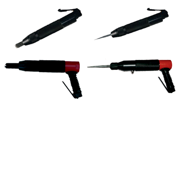 Vibration Reduced Needle Scalers