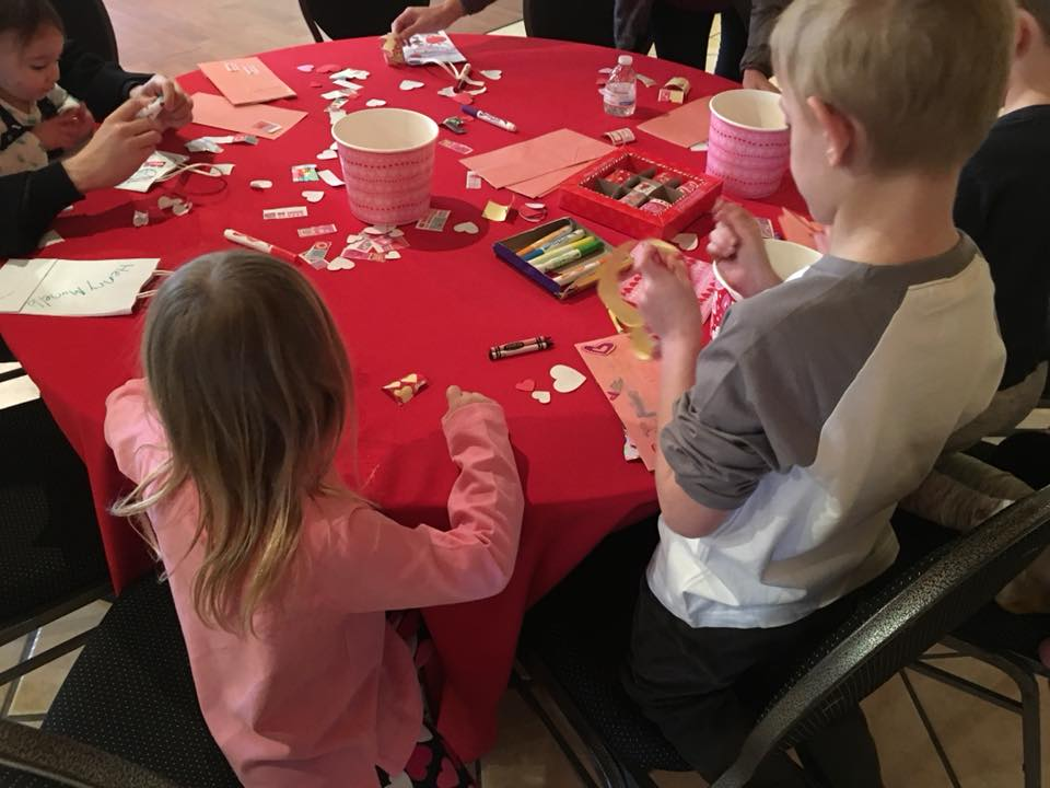 JHMA Valentines crafts