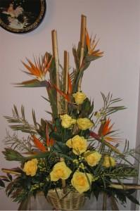 sympathy yellow roses