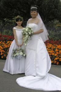 CJ wedding bouquets