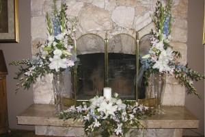 CJ wedding centerpieces