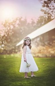 joan fairs floral flower girl wedding