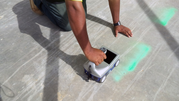 how concrete scanning GPR works