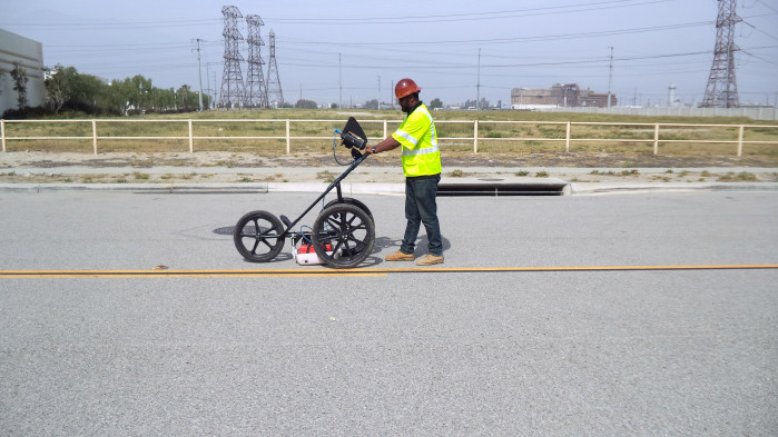 GPR utility location in the field