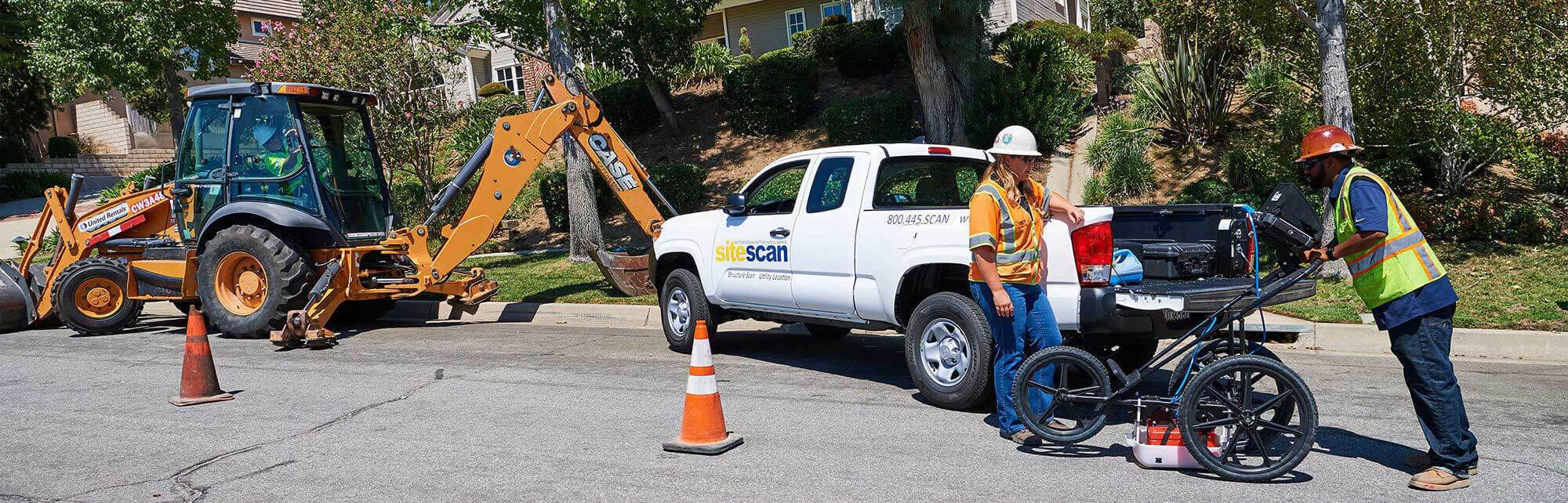 We locate all underground utilities. Residential, industrial and commercial experts