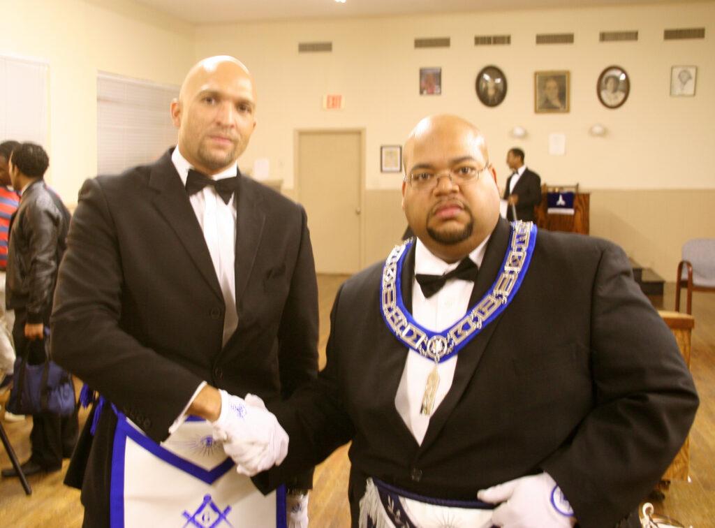 Bro. Ray Odom & JW Zack Budd  election night 2013
