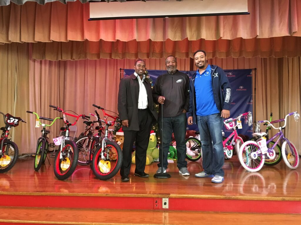 2017 Bike Donation to Kashmere Elementary