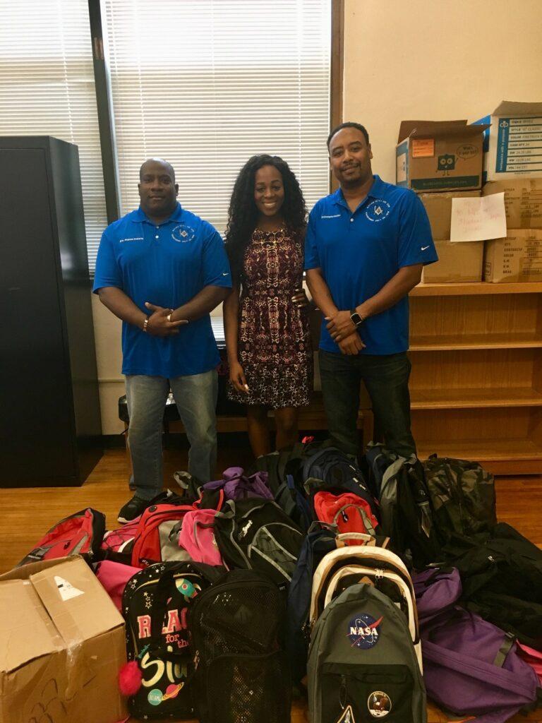 2018 Backpack Donation Kashmere