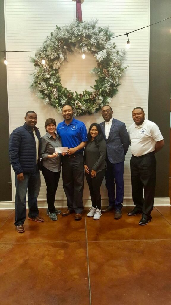 2018 Hope for 3 Donation to Support Autism Check Presentation