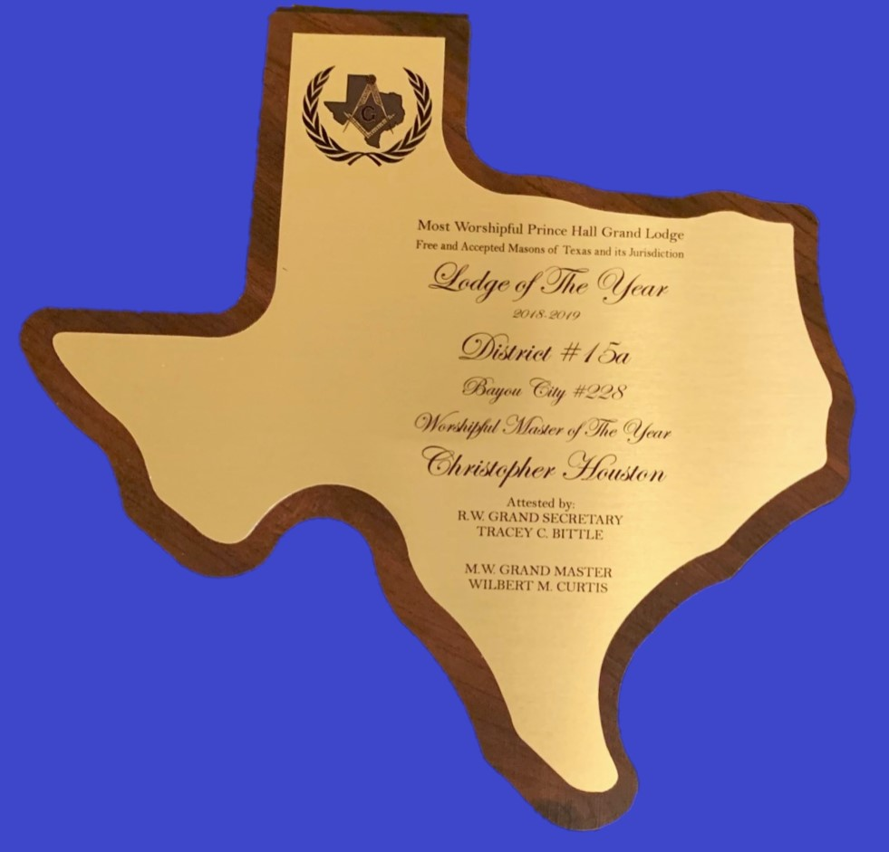 2018-2019 Lodge of the Year Award